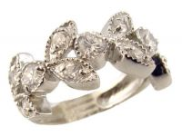Sterling Silver 3.00ct Oval Cubic Zirconia Halo Engagement Set